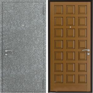 двери стальные порошок+мдф с резьбой