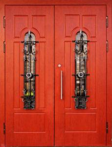 двери двухстворчатые Мдф от производителя