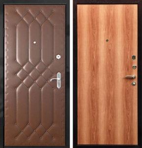 входная дверь ламинат +винилискожа