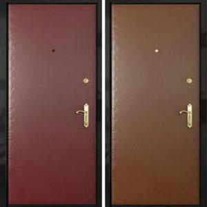 двери входные винилискожа