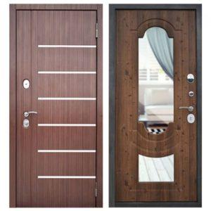 металлические двери с молдингом Долгопрудный