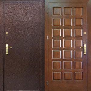 входные двери в порошке +мдф в квартиру