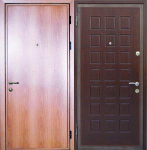 двери металлические с ламинатом под заказ