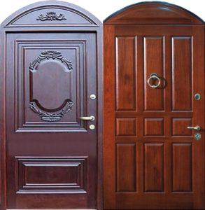 входная дверь +в дом арочная