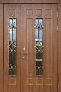 входные двери в дом+с стеклом купить Долгопрудный