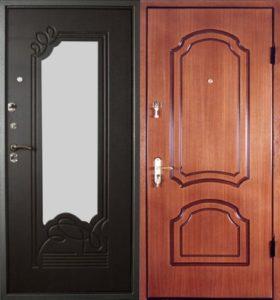 входная дверь +с зеркалом цена