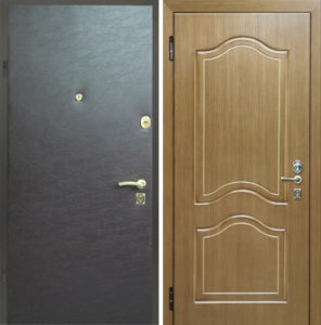 двери мдф с экокожей под заказ