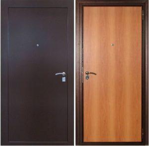 двери входные порошо+ламинат от производителя