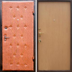 двери дермантин обивка с ламинатом
