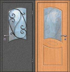 уличные двери +с ковой