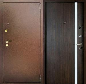 входная дверь с молдингом под заказ