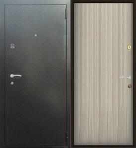 двери стальные в ламинате
