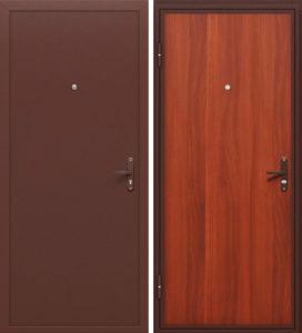 дверь железная в порошке