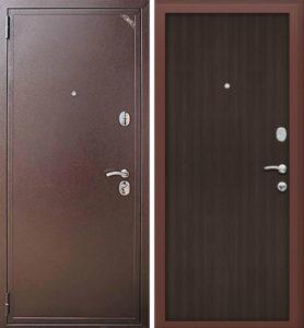 стальные двери ламинат +порошок