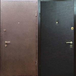 дверь порошковый + дермантин Долгопрудный