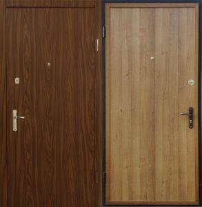двери под заказ в ламинате