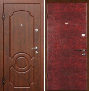 двери в дом в виниле от производителя
