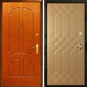 Дверь входная обивка с рисунком с Мдф