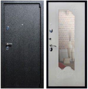 железные двери зеркальные от производителя