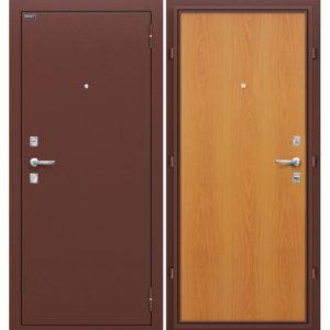 двери металлические в ламинате под заказ