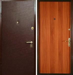 металлические двери ламинированые