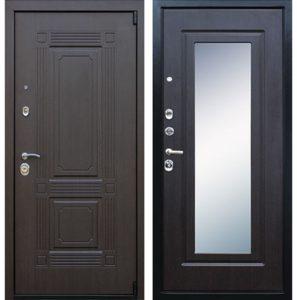 железные двери мдф с зеркалом
