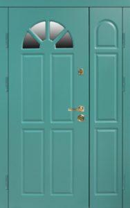 двери стальные двустворчатые +стеклопакт купить