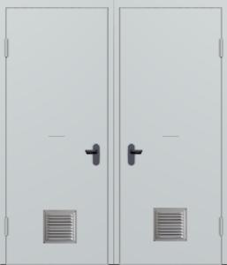 двери техничесие с вентиляцией заказать