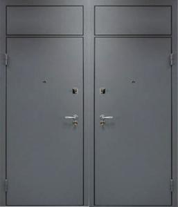 технические двери с верхней вставкой от производителя