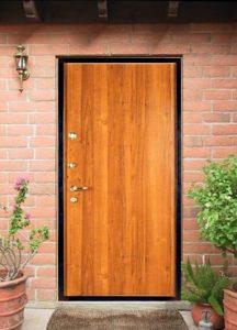 двери в ламинате в дом