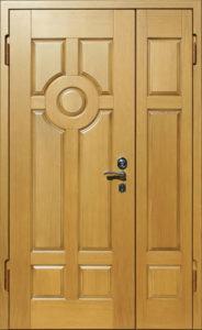 двери двустворки в мдф под заказ