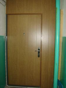двери на лестничную площадку в ламинате под заказ