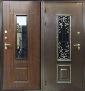 стальная дверь +с ковкой заказать