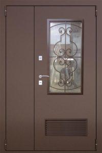 двери ковка+вентиляция купить