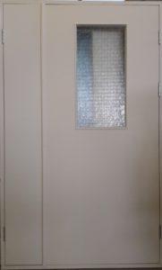дверь с армированным стеклом порошковое напыление заводская