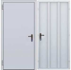 двери технические стальные в скелете нитро купить