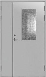 противопожарные двери с армированным стеклом от производителя