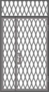 техническая решетчатая дверь под заказ