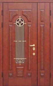 входны двустворчатые двери в Мдф от производителя