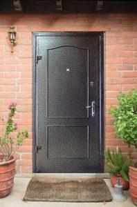 двери в дом порошковое напыление под заказ