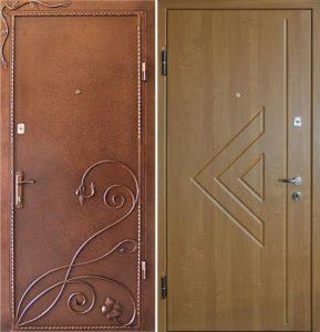 дверь метллическая с ковкой купить