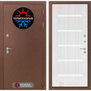 входные уличные двери с терморазрывом в порошке