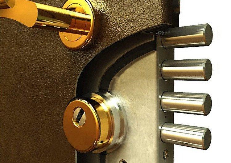 броненакладки для двери