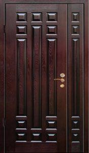 дверь полуторка с отделкой мдф