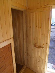 двери для бани, сауны с вагонкой от производителя