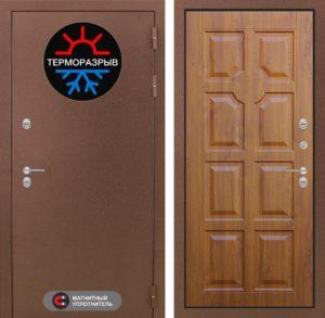 входные двери с магнитом терморазрыв в дом