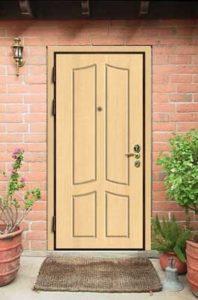 двери в коттедж мдф цена