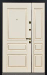 двери двустворчатые с панелями мдф