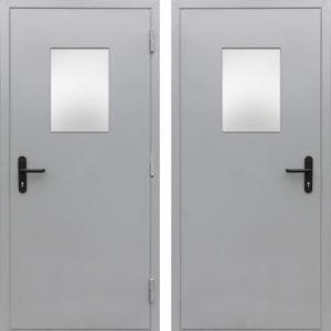 стальные двери технические со стеклом купить Долгопрудный