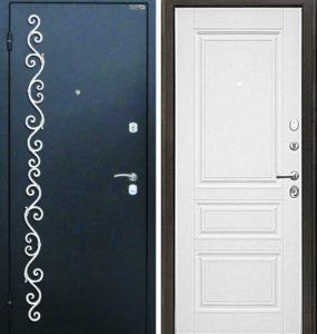 двери железные с ковкой заводские